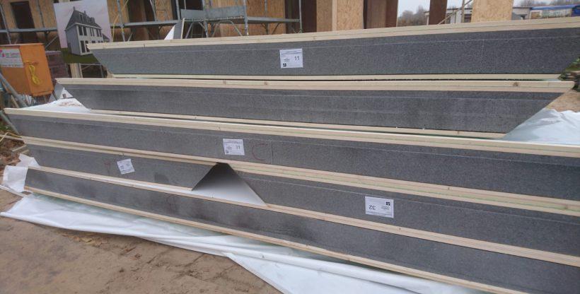 Genummerde dakplaten met EPS isolatie